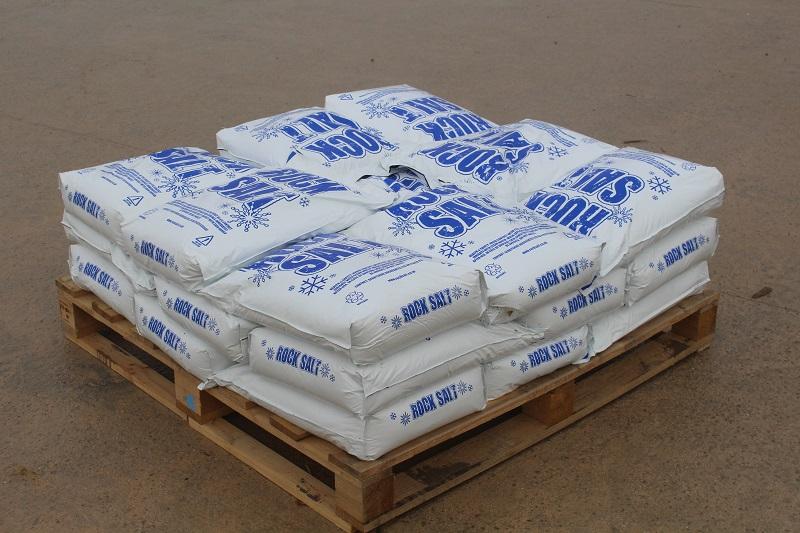 Rock Salt 25 Poly Bags