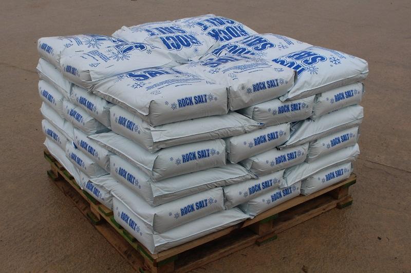 Rock Salt 50 Poly Bags