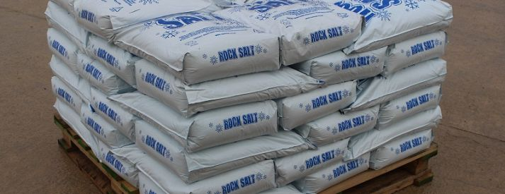 Bagged Rock Salt and Winter Products